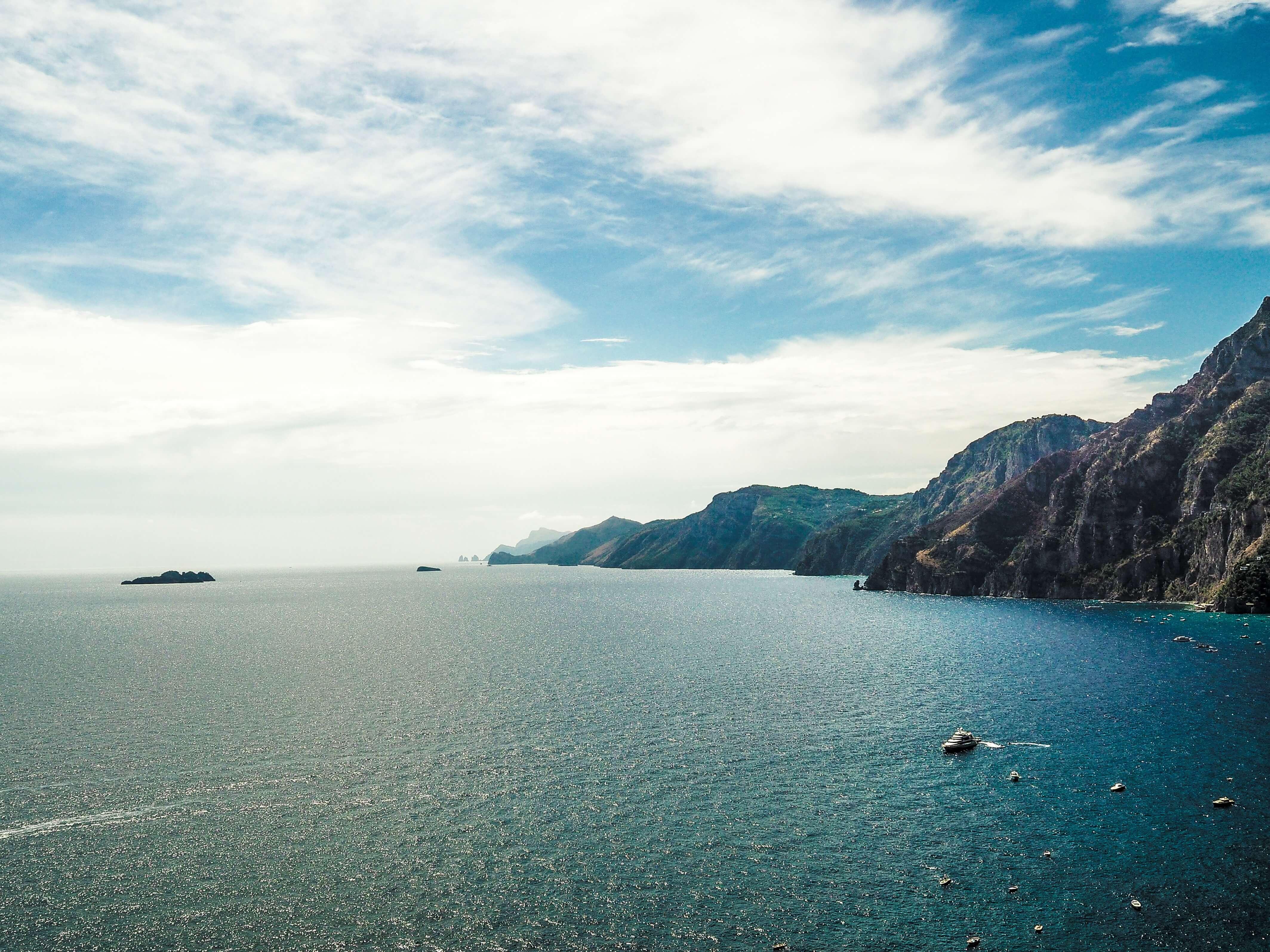 amalfi coast yacht